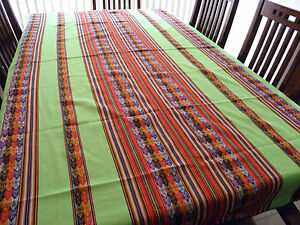 Image Is Loading New From Puno Peru Andean Inca Cotton Table