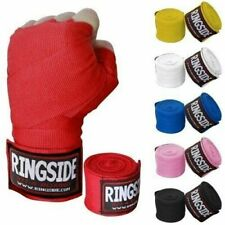 "Ringside Boxing Pro Mexican Handwraps 200/"" Black"