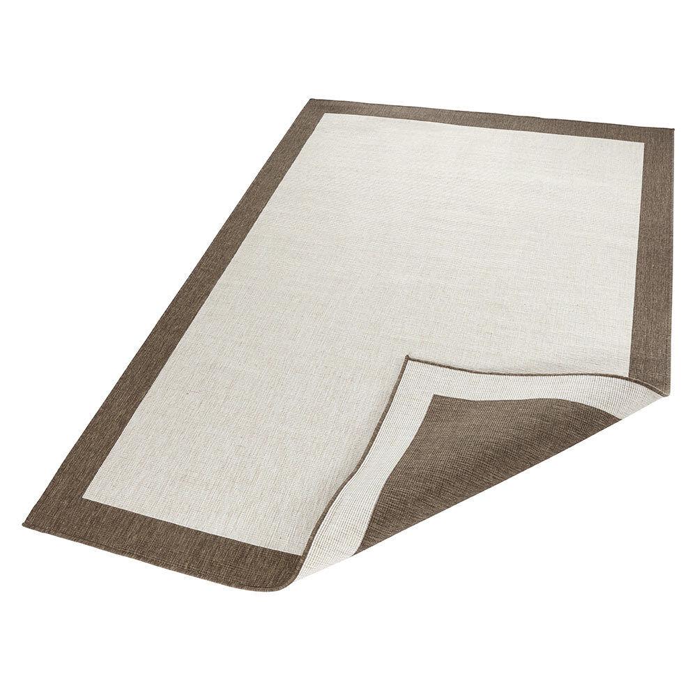 Alfombra de inflexión panamá crema crema crema marrón en - & Outdoor 85497f