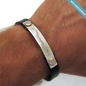 Personalized Heartbeat Bracelet Men S