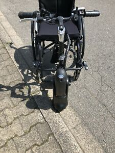 MySkate-Rollstuhlzuggeraet-Incl-2-Akkus-Ladekabel-Anhaengevorrichtung-Gebraucht