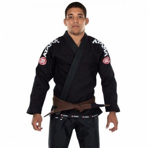 ATAMA MUNDIAL KIMONO GI Black Jiujitsu GI Jujitsu Jiu-jitsu Uniform BJJ Kimono
