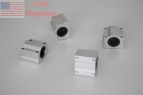 4pcs SC16UU SCS16UU 16mm Linear Ball Bearing Linear Motion Bearing Slide