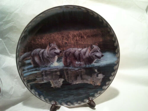 """Alternate Routes"" The Bradford Exchange Collectors # Plate Ways of the Wolf"