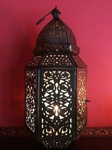 Orientalische Marokkanische Laterne Eisenlaterne Windlicht Laternen