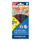 Staedtler Farbstiftetui Noris Colour mit 12 Farben WOPEX Material