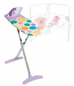 Casdon-Pretend-Play-Little-Helper-Ironing-Board-amp-Iron-Cleaning-Toy-Playset