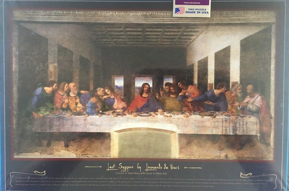 BUFFALO GAMES LAST SUPPER PUZZLE 2000 PIECES NEW (Read)