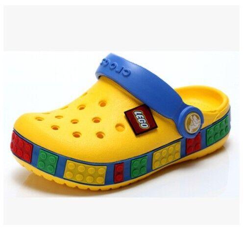 Girls Boy Le Go Cros Style Crocband Clogs Kid Beach Shoe Limited Edition UK NEW