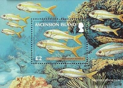 Topical Stamps Ascension Block71 Mint Never Hinged Mnh 2012 Fish The Riffgewässer Lustrous Africa