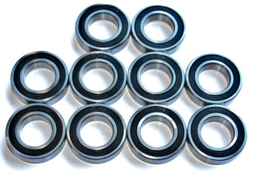 10 pack 61701 2rs [6701] 12x18x4w Thin Section SEALED HIGH PERFORMANCE BEARINGS