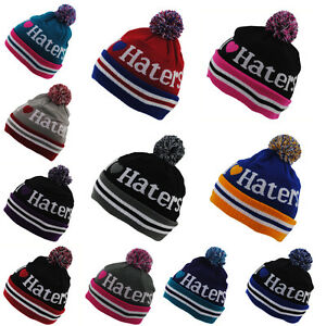 STATE-PROPERTY-I-LOVE-HATERS-HEART-ROLL-UP-WINTER-WOOLY-BOBBLE-BEANIE-HAT