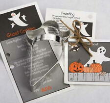 GHOST ~ HAUNTED HOUSE ~ tin cookie cutter DUO ~ MADE IN THE USA (NEW)