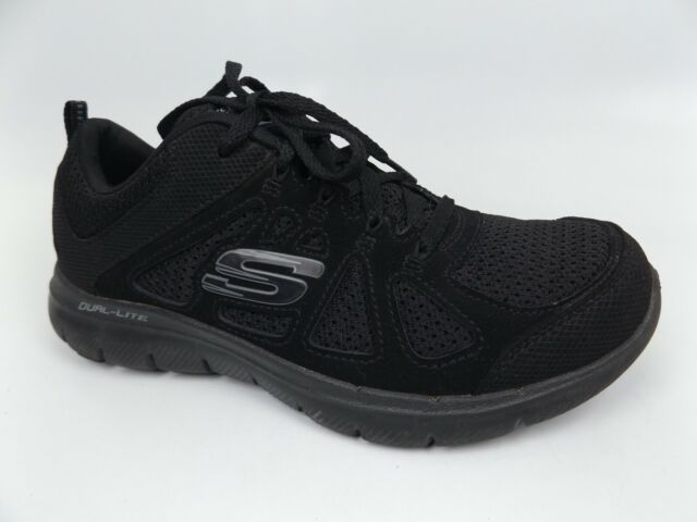 Skechers Womens Element Low Top Lace up