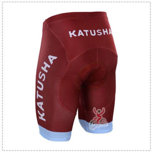 KJX4943 Road Men Team Bicycle Cycling Polyester GEL Padded Shorts