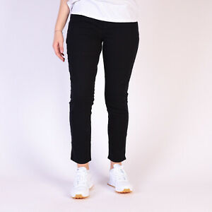 Levi-s-Perfectly-Slimming-Pull-On-Skinny-Damen-schwarz-Jeans-Groesse-30