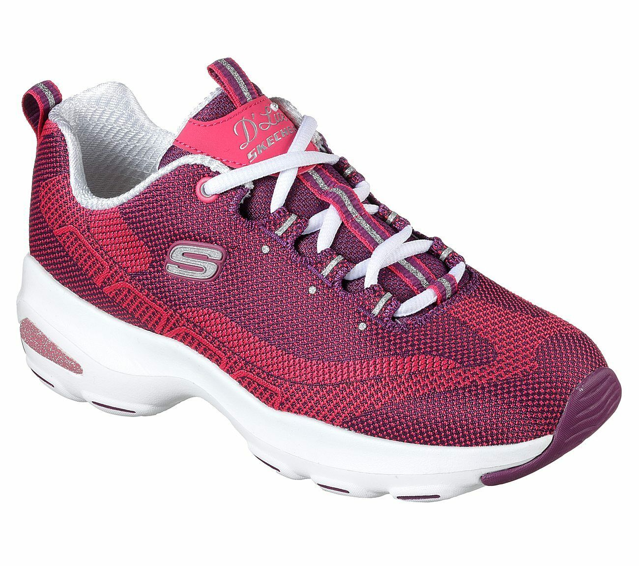 Skechers D'Lites Ultra Trainers Knit Donna Memory Foam Chunky Knit Trainers Scarpe da Ginnastica Shoes 4c90d9