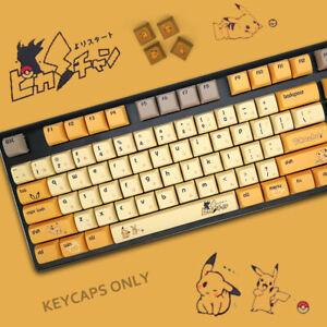 108-PBT-Japanese-Anime-Thick-XDA-Keycaps-Set-Fit-Cherry-MX-Mechanical-Keyboard