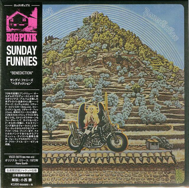 SUNDAY FUNNIES-BENEDICTION-JAPAN MINI LP CD Ltd/Ed F83