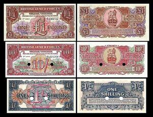 Grande-Bretagne -  2x 1 Shilling - 1 Pound - Edition ND 1956 - Reproduction - 18