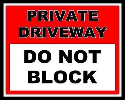 Private Parking Metal Sign Personalised Badge Fun For Car Gate Driveway Garage
