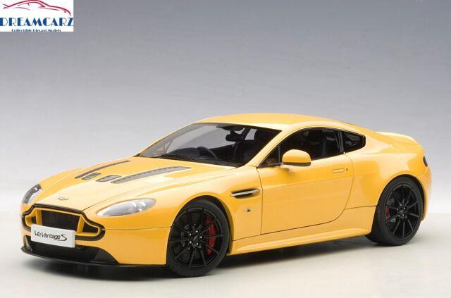 Aston Martin V Vantage S Yellow Tang By Autoart EBay - Aston martin v8 vantage s