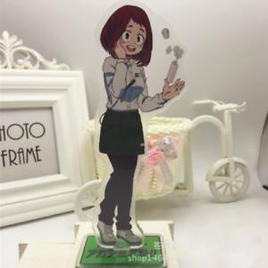 Anime Boku no hero academia My Hero Academia Uraraka Ochako Stand Figure Acrylic