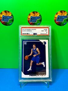 2018-Luka-Doncic-NBA-Hoops-RC-268-PSA-8-Rookie-Card