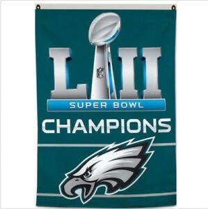 86bb3d94f69 Philadelphia Eagles Flag SUPER BOWL 52 LII Champions 2017 Banner 3X5 ...