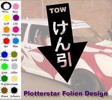 Tow nr5 JDM Sticker Aufkleber OEM Power fun like Shocker Bitch Hater