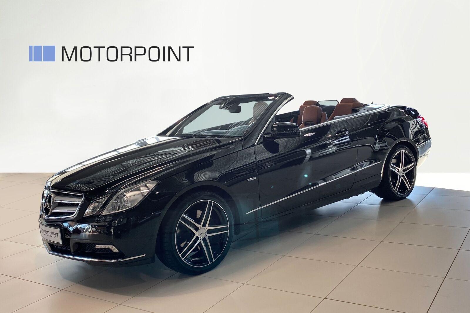 Mercedes E350 3,5 CGi Avantgarde Cab. aut. BE 2d