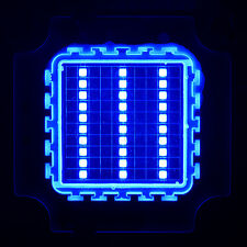 Superbright 30W 30Watt 45mil Chips Blue High Power LED SMD Chip light 1500LM DIY