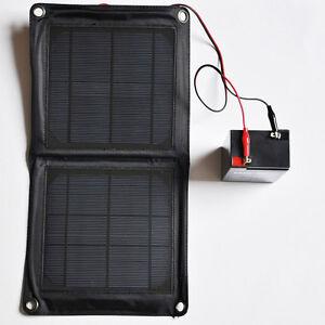 solar panel ladeger t f r 6v 12v akku batterie wildkameras und futterautomaten ebay. Black Bedroom Furniture Sets. Home Design Ideas