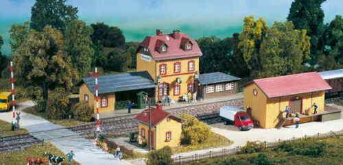AUHAGEN 15102 Startset stazione ferroviaria wachstädt h0 Nuovo//Scatola Originale