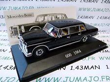 coche 1/43 ixo altaya MERCEDES : 600 1964