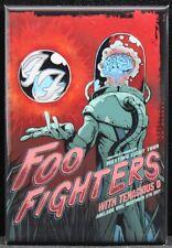 """Foo Fighters Concert Poster 2"""" X 3"""" Fridge Magnet. Adelaide Australia"""
