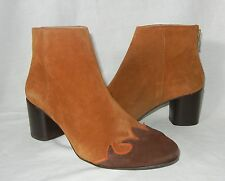 Free People Women's Adele Leather Rear Zip Ankle Boot Retail $180 size 8