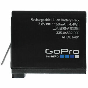 Genuine-AHDBT-401-Rechargeable-Battery-for-GoPro-HERO4-Black-and-Silver