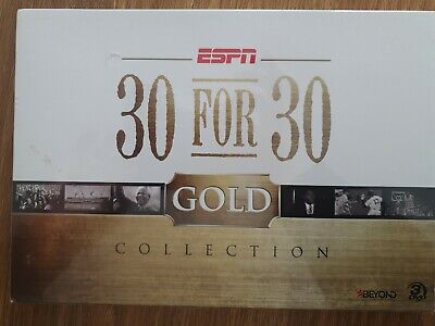 Espn 30 For 30 Gold Collection New Sealed Dvd Region 4 Sports Dvd Ebay