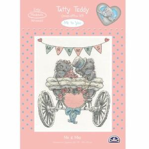 DMC Me To You Tatty Teddy Counted Cross Stitch Kit-M. et Mme 							 							</span>