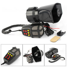 New 12v Car Siren Horn Pa System Novelty Loud Multi Tones Sounds