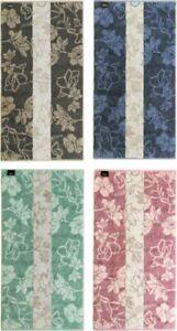 Handtuch Aus Turkischer Baumwolle Damast Muster Blau 14