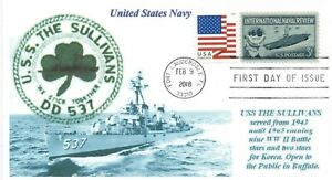 Uss-el-Sullivans-DD-537-Destructor-Llamado-Cinco-USN-Bros-Buffalo-Museum-Barco
