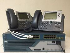 CISCO CCNA CCNP CCIE VOICE Lab Kit  CME 8.6 Cisco 3825, 3560-24PS-S, CP-7960G