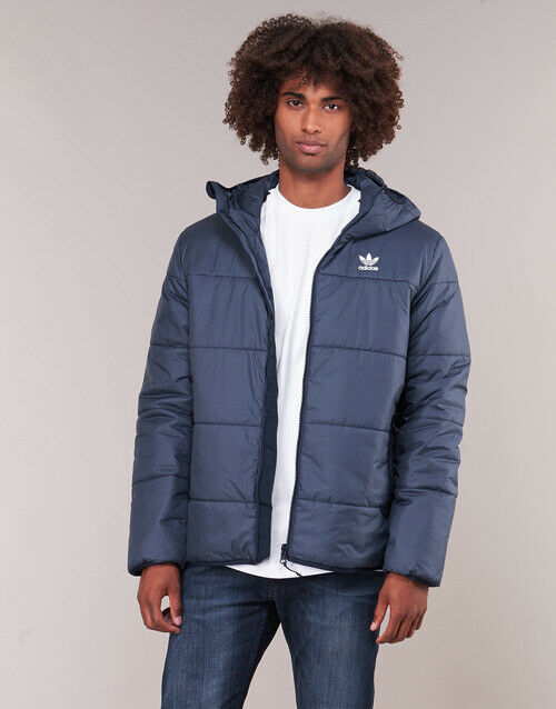 official photos b13a2 c4030 PIUMINO ADIDAS ORIGINALS ED5828 JACKET PADDED CONAVY MODA UOMO FASHION