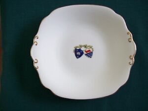 OXFORD-VARSITY-CITY-CRESTED-WHITE-CHINA-PLATE-ARCADIAN-EXCELLENT-CONDITION