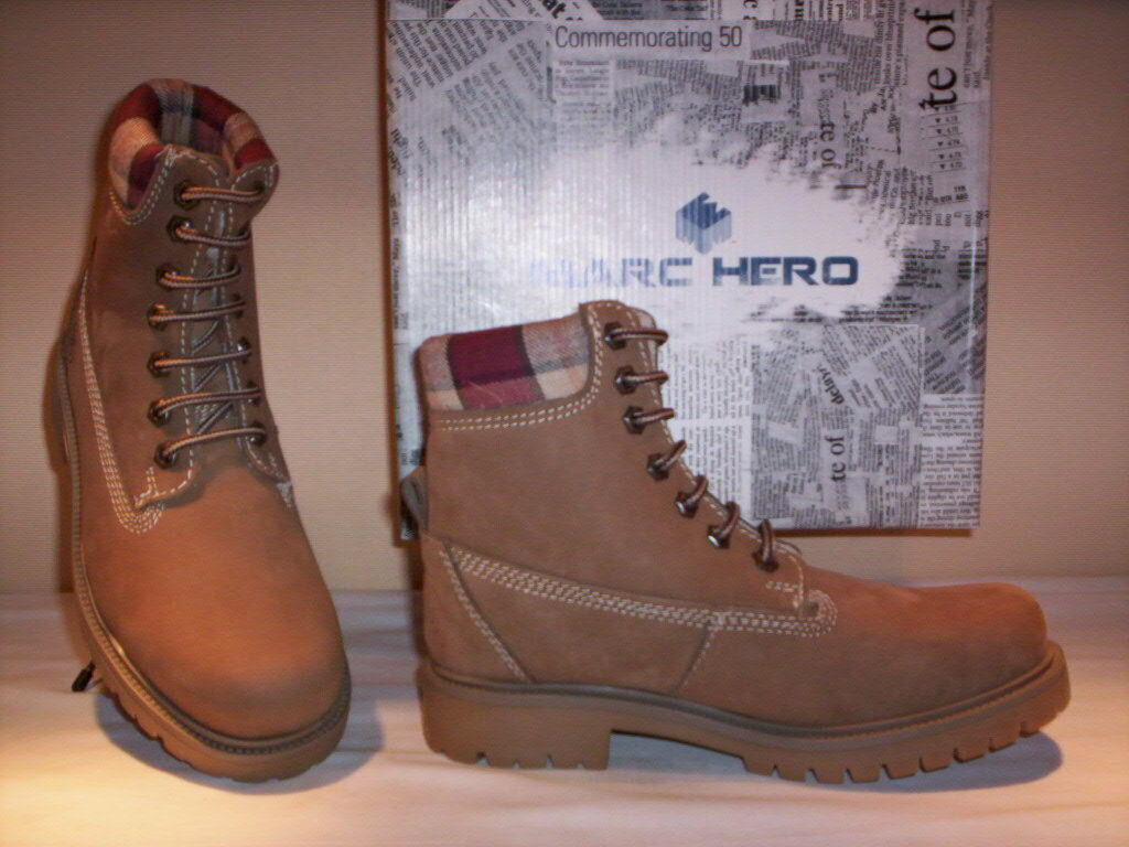 hohe Schuhe Stiefel Marc Hero woman 35 Kind casual Leder Wolle 35 woman 36 37 38 39 aa9f40
