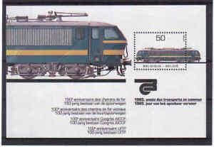 BLOK 61 trein postfris** 1985
