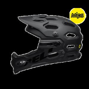 Bell Super 3R MIPS MTB Casque 2019 Noir Mat L 58-62 cm