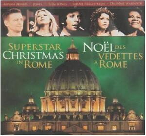 5-NEW-CDs-Superstar-Christmas-in-Rome-WHOLESALE-LOT-Bryan-Adams-Jewel-Tom-Jones